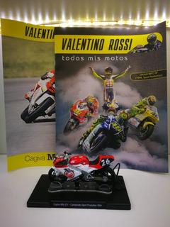 Colección De Motos Valentino Rossi Nº 18 Cagiva Mito Sp
