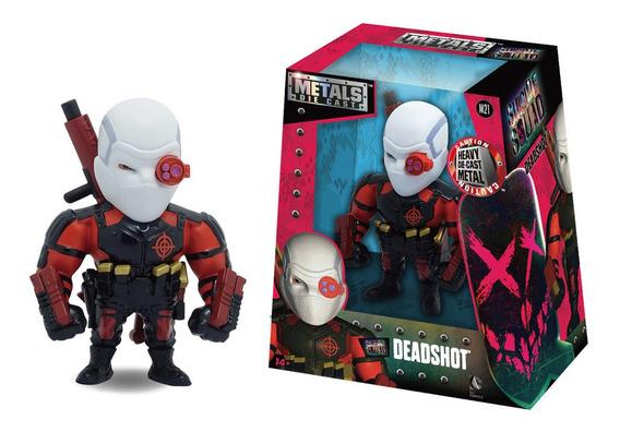 Figura Metals Deadshot 11 Cm Suicide Squad