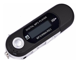 Reproductor Mp3 A Pila Sin Radio Fm + 16gb Micro Sd+ Adapt