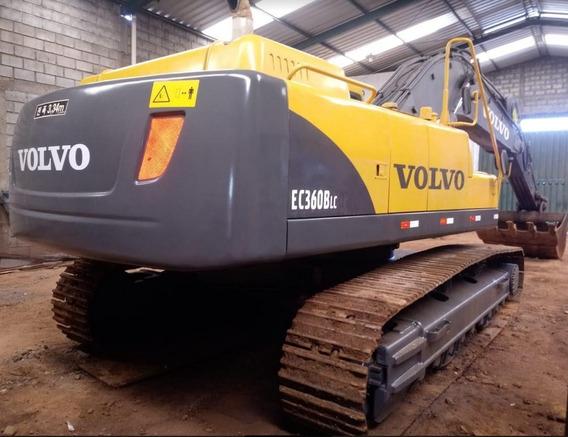 Escavadeira Volvo Ec360 B Lc Ano 2012, Super Conservada