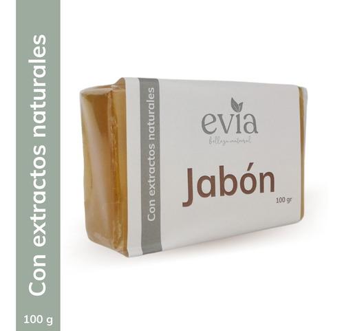 Imagen 1 de 2 de Jabón Glicerina Artesanal Leche De Burra Y Aceite De Coco