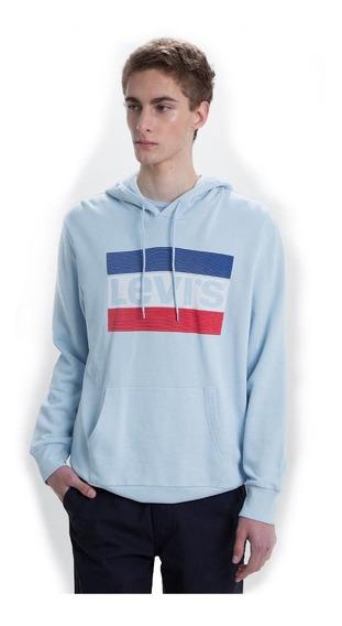 Buzo Hombre Algodón Graphic Po Hoodie Sportwear Logo