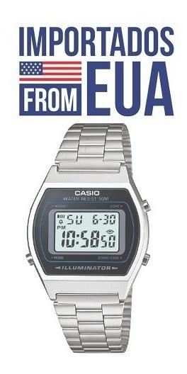 Relógio Casio Vintage Prata B640wd-1av
