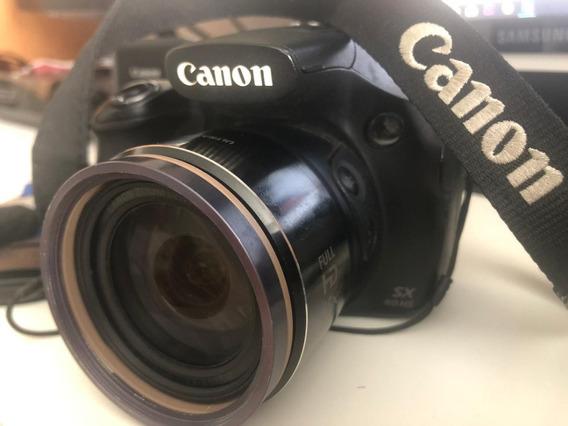 Camera Canon Powershot Sx60 Hs Com Wifi E 65x De Zoom