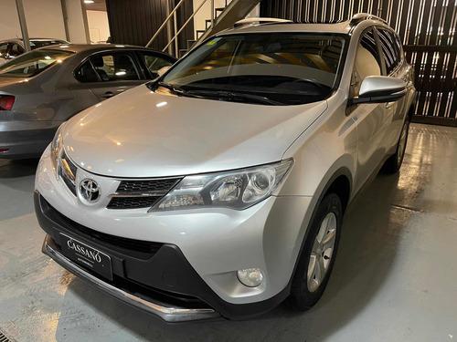 Toyota Rav4 2.0 4x2 Vx Cvt 2014 Gris Plata Cassano Automobil