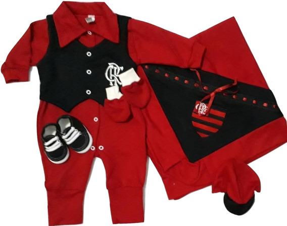Saída De Maternidade 6 (seis) Peças Flamengo - Masculino