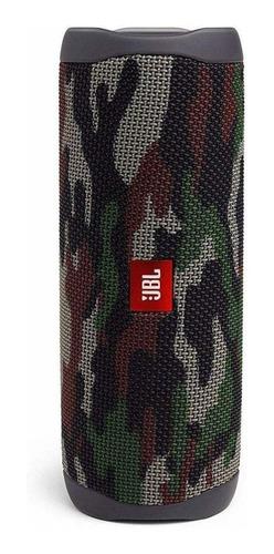 Alto-falante JBL Flip 5 portátil com bluetooth squad