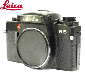 Câmera Leica R5 Black Reflex 35mm - Usada - Corpo