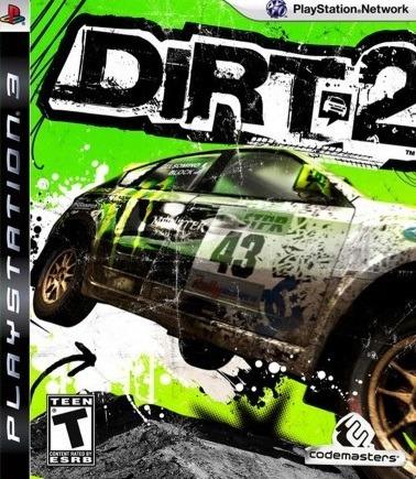 Jogo Dirt 2 Ps3 Playstation 3 Mídia Física Corrida Game