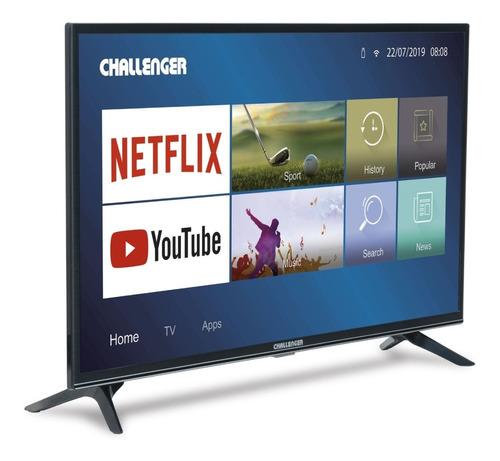 Televisor Challenger Led 40tl30 Bt Netflix Tv T2