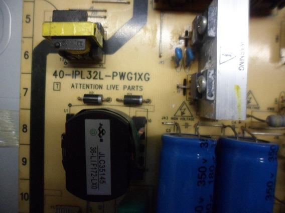 Placa Da Fonte Tv Philips 32 Pfl 3404 D 40-ipl 32 L-pwg1xg