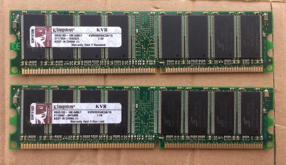 Memoria Ram Kingston Ddr400 Pc3200 1 Gb Pc