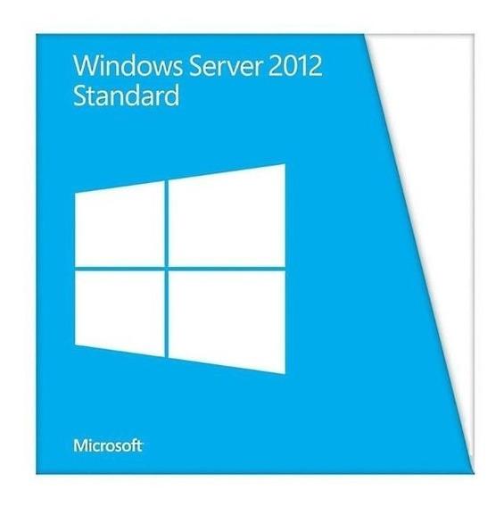 Licença Windows Server 2012 Standard + Nf