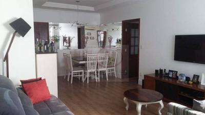 Apartamento Com 2 Dormitórios, 2 Banheiros, Dependencia Completa, 1 Vaga, Salão De Festas, À Venda, 92 M² Por R$ 425.000 - Macuco - Santos/sp - Ap8744
