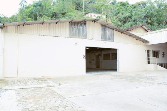 Galpão Para Alugar, 1300 M² Por R$ 12.000/mês - Ponta Aguda - Blumenau/sc - Ga0073