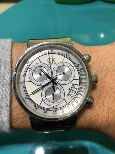 Lindo Relógio Da Calvinklein Original Comprado Nos Eua