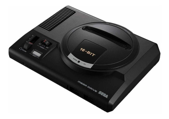 Console Sega Mega Drive Mini 512MB preto