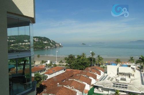 Imagem 1 de 21 de Apartamento Com 3 Dormitórios À Venda, 119 M² Por R$ 750.000,00 - Praia Da Enseada - Guarujá/sp - Ap4343