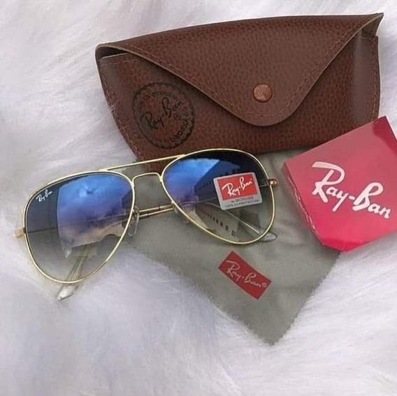 Óculos De Sol Modelo Aviador Polarizado Promoção