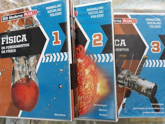 Moderna Plus - Os Fundamentos Da Física Vol 1, 2 E 3