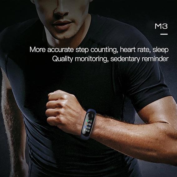 Relógio Inteligente Frequência Cardíaca Black Pres Arterial