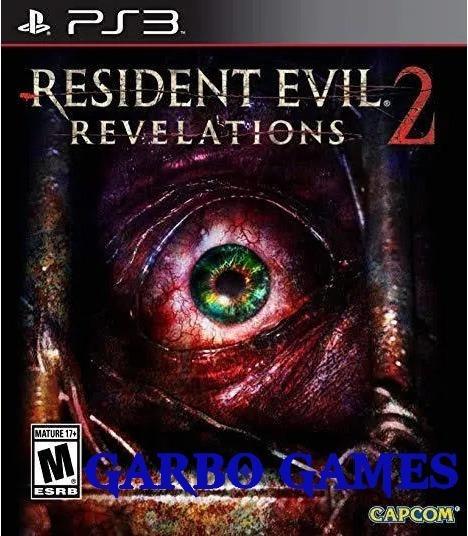 Jogo De Ps3 Resident Evil Revelations 2 Em Mídia Digital