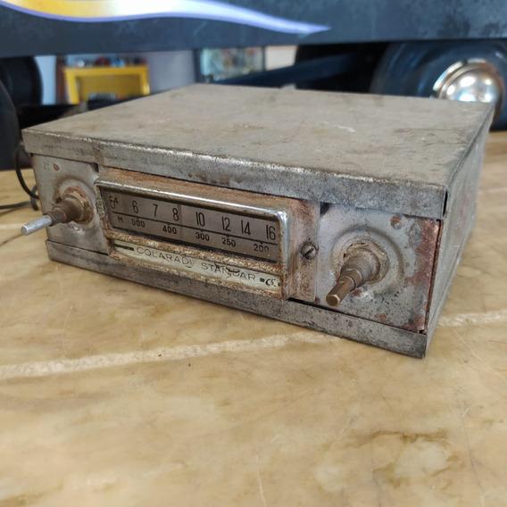 Rádio Automotivo Colaradi Standar Antigo Carro Emblema 3012