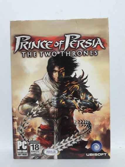 Jogo Pc: Prince Of Persia:the Two Thrones