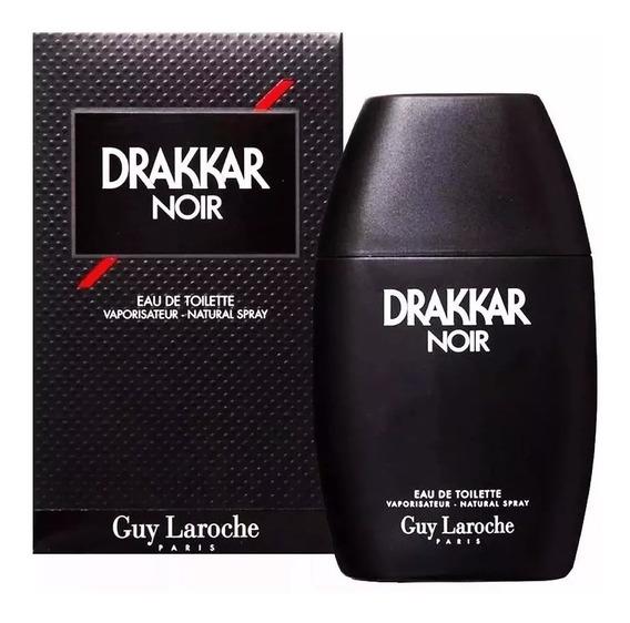Perfume Drakkar Noir 100ml Edt Lacrado Original + Brinde