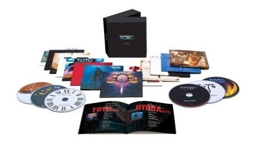 Toto - All In 1978-2018 Studio Albums [box Set 13cd] 2019