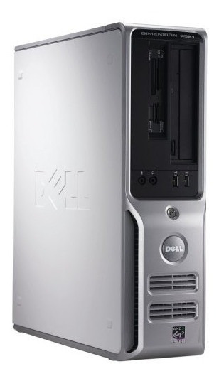 Pc Desktop Dell Dimension C521 4gb 160gb 1.8 Ghz Seminovo!