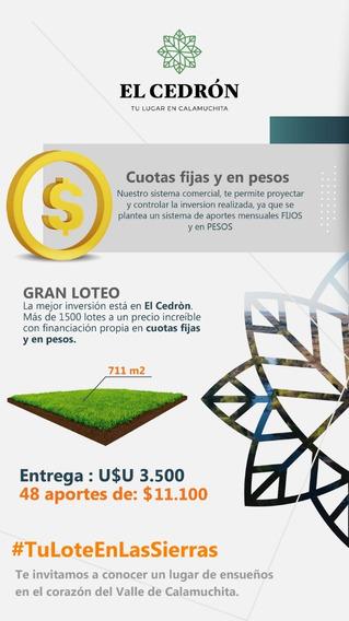 Obtene #tulote En Las Sierras- Valle De Calamuchita-córdoba.