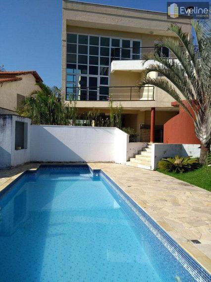 Casa A Venda - Eco Park Lagos I - 3 Suites - 6 Vagas - Mogi - V745