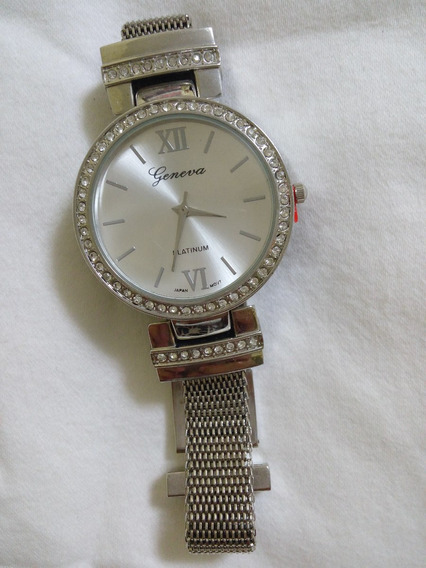 Reloj De Pulso Para Dama Plateado