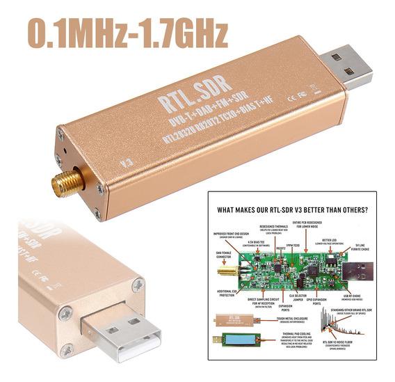 Rtl Sdr Tcxo Receptor Rtl2832u R820t2 V3 Pro 0.5ppm Hf Sma S