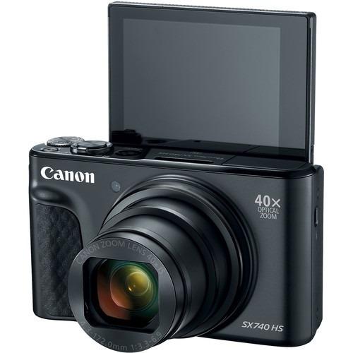 Canon Powershot Sx740 Hs 20.3mp 4k - Nfe 2 Anos Garantia