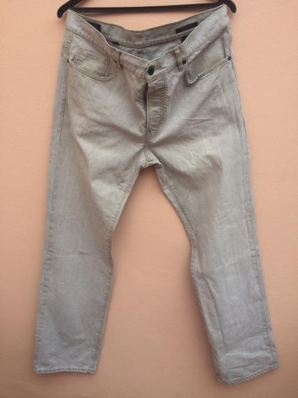 Jean Bensimon Pantalon Hombre Gris Recto Talle 36 O 46