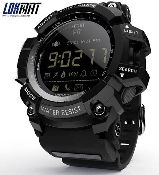 Relógio Multifunções Lokmat Lk16/ Ex16 Pedômetro, Cronômetro