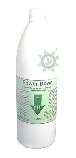 Regulador Ph Power Down 1l Cultivo Indoor Hidroponia Grow