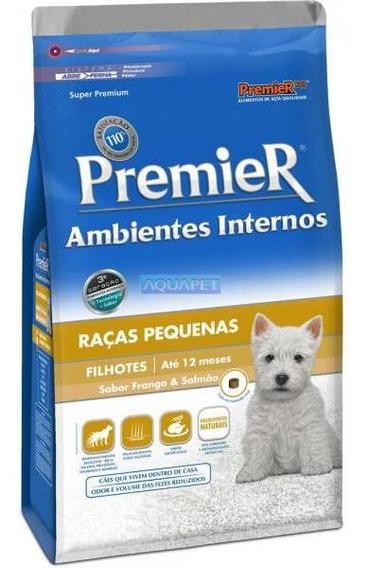 Ração Premier Amb. Internos Raças Pequenas 1kg Cães Filhotes