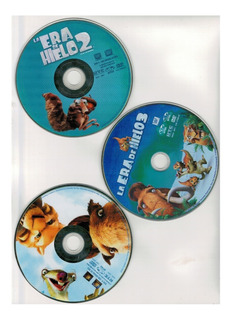 Dvd La Era De Hielo Box Set 3-pack 1, 2, 3.