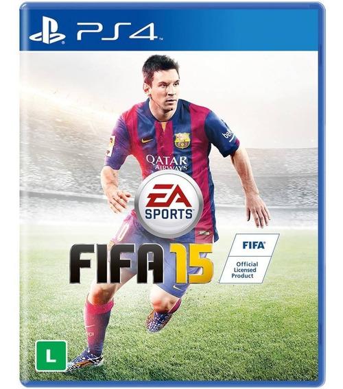 Game Ps4 Fifa 15 - Original - Novo - Lacrado