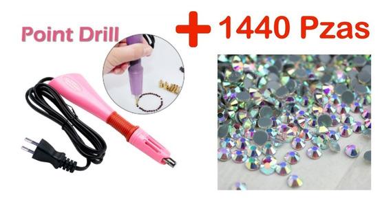 Aplicador Pedrería Hotfix +1 Paquete De Cristal Ss30 Ó Ss40