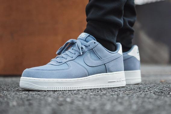 Nike Air Force 1 -azul /suede / Nuevos /hombres /26 Mx