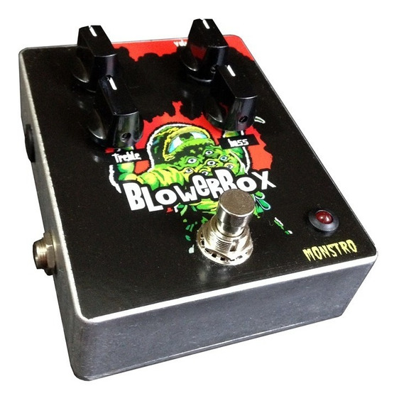 Pedal Baixo Blower Box Bass Drive Distortion Monstro Effects