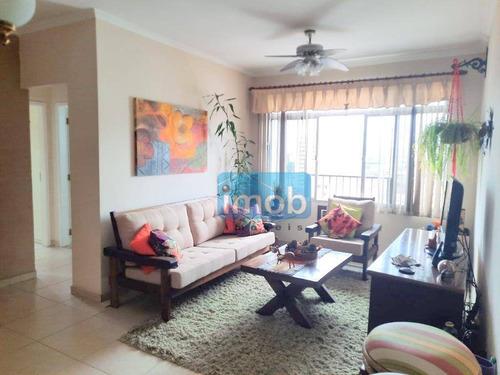 Imagem 1 de 26 de Boqueirao Em Santos, Elevador, Andar Alto, Vista Livre, 2 Dorms, 2 Wcs, 1 Vaga De Garagem. - Ap7898