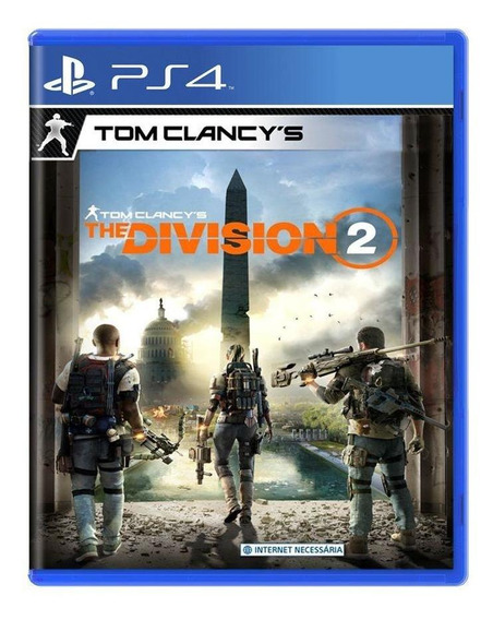 Tom Clancys The Division 2 Ps4 Mídia Física Pronta Entrega