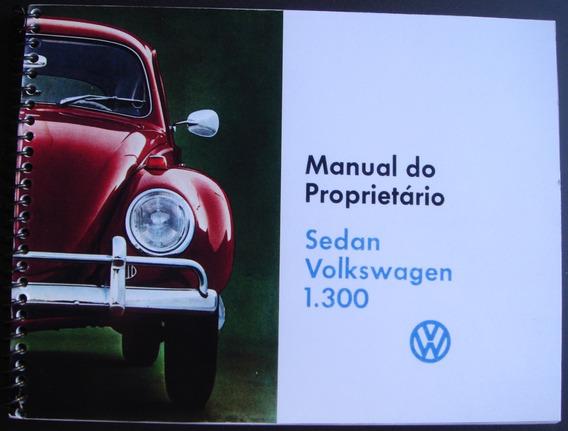 Manual Do Proprietário Fusca 1970 - 1. Série.