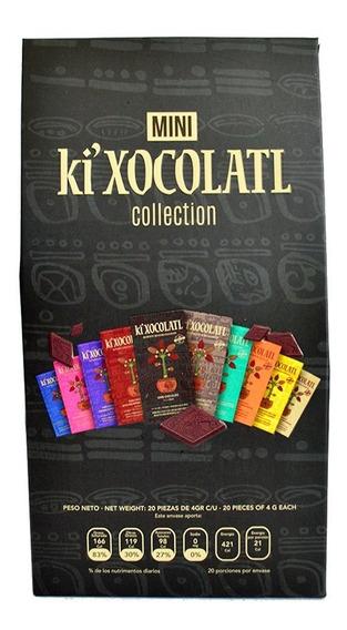Chocolate Mini Colección Ki Xocolatl Colección, Natural