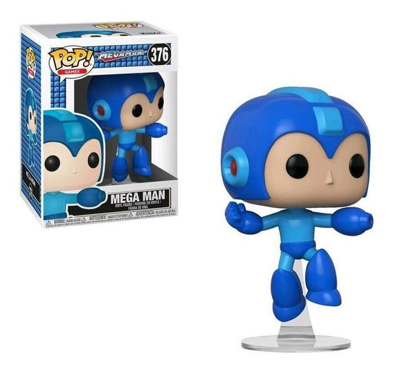 Funko Pop Megaman (jumping)